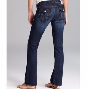 """True Religion """"Becky"""" Bootcut Jeans 
